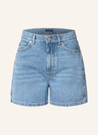 WHISTLES Authentic Jeans-Shorts Damen, Blau