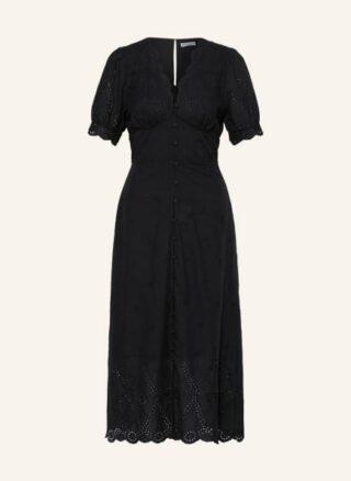 WHISTLES Carolyn Ausgestelltes Kleid Damen, Schwarz