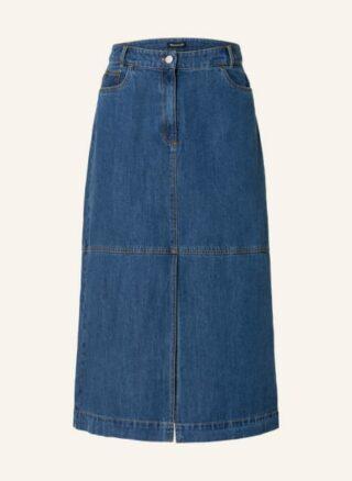 WHISTLES Harlow A-Linien-Jeansrock Damen, Blau