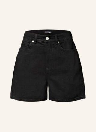 WHISTLES Jeans-Shorts Damen, Schwarz