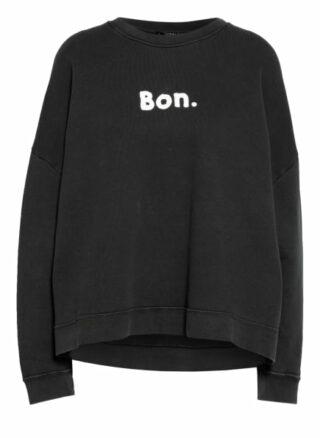 WHISTLES Oversized-Sweatshirt Damen, Schwarz