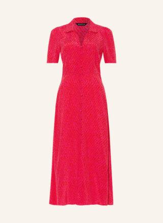 WHISTLES Rowan Kleid in A-Linie Damen, Pink