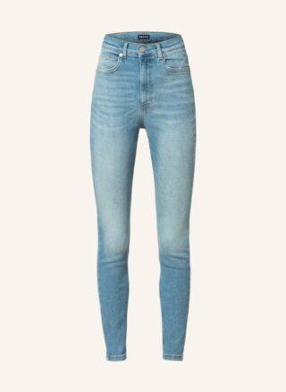 WHISTLES Skinny Jeans Damen, Blau