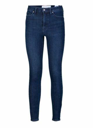 YOUNG POETS SOCIETY Ania 76214 Stone Wash Skinny Fit Skinny Jeans Damen, Blau