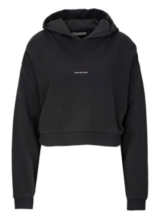 YOUNG POETS SOCIETY Jola Sweat Cropped 214 Cropped Fit Hoodie Damen, Schwarz