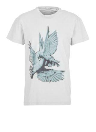 YOUNG POETS SOCIETY Sculptured Birds Daylen 214 T-Shirt Herren, Grau