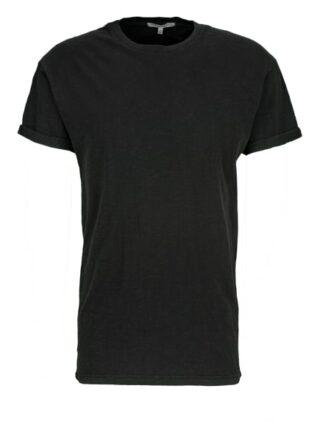 YOUNG POETS SOCIETY Zander Slub T-Shirt Herren, Schwarz