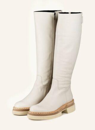 Zinda Stiefel Damen, Weiß