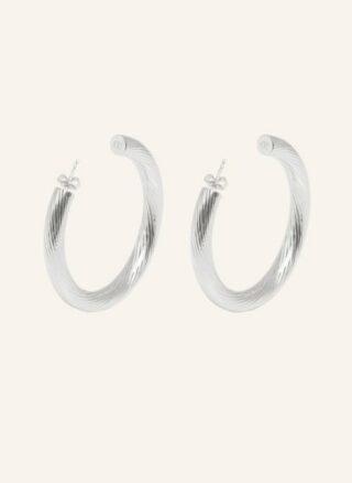 ariane ernst Bold Spiral Ohrringe Damen, Silber