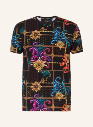 carlo colucci T-Shirt Herren, Blau
