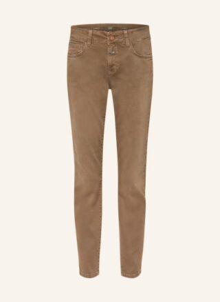 closed Baker Slim Fit Jeans Damen, Braun