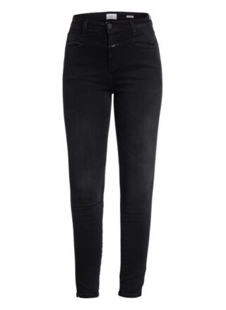 closed Skinny Pusher 7/8 Skinny Jeans Damen, Grau