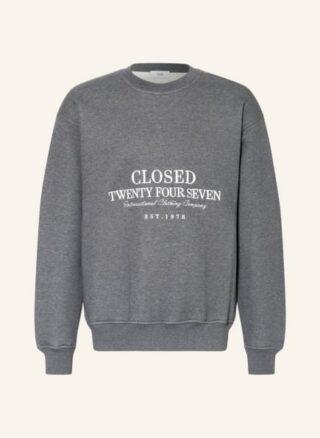 closed Sweatshirt Herren, Grau