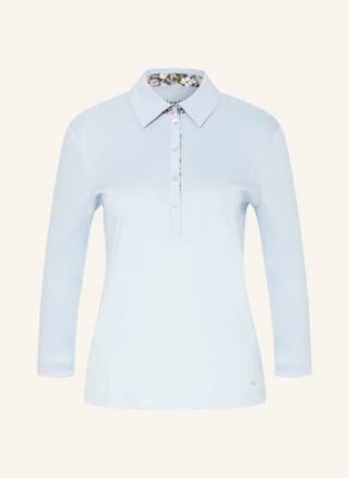efixelle Jersey-Poloshirt Damen, Blau