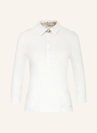 efixelle Jersey-Poloshirt Damen, Weiß