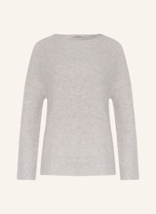 lilienfels Cashmere-Pullover Damen, Grau