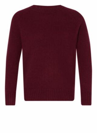 lilienfels Cashmere-Pullover Damen, Rot