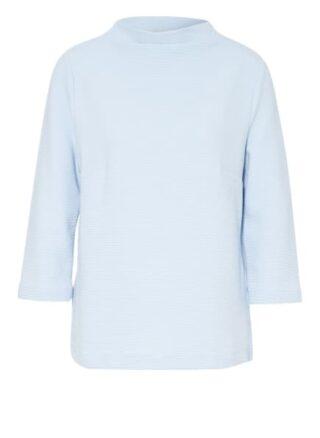 lilienfels Strickshirt Damen, Blau