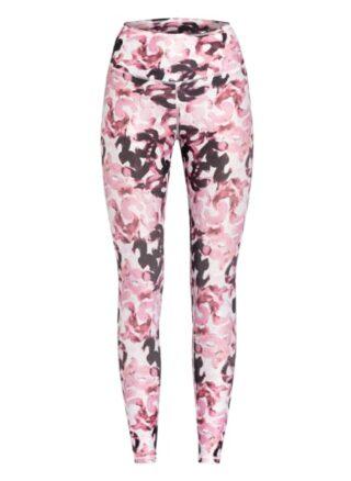 mandala Tights Fancy Leggings Damen, Pink