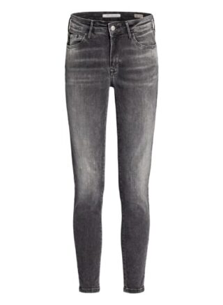 mavi Adriana 7/8 Skinny Jeans Damen, Grau