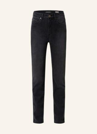 mavi Jeans Kendra Straight Leg Jeans Damen, Schwarz