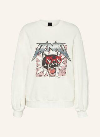 pinko Sweatshirt Damen, Weiß