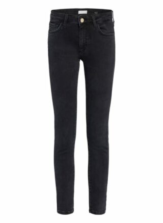 rich&royal Skinny Jeans Damen, Schwarz
