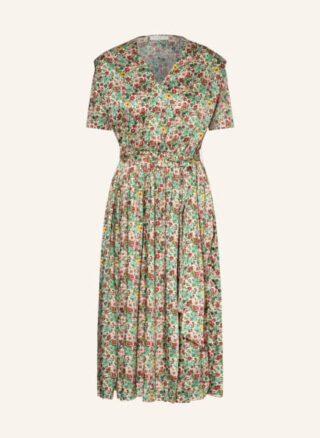 sandro Ausgestelltes Kleid Damen, Grün