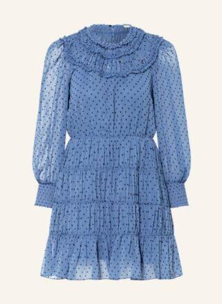 sandro Kleid in A-Linie Damen, Blau