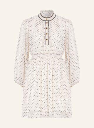 sandro Kleid in A-Linie Damen, Weiß