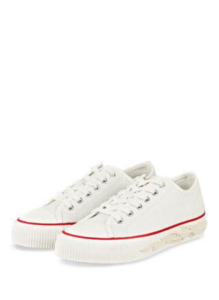 sandro Plateau-Sneaker Damen, Weiß
