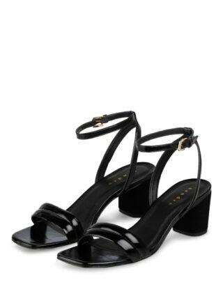 sandro Sandaletten Damen, Schwarz