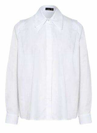 van Laack Beloy Hemdbluse Damen, Weiß
