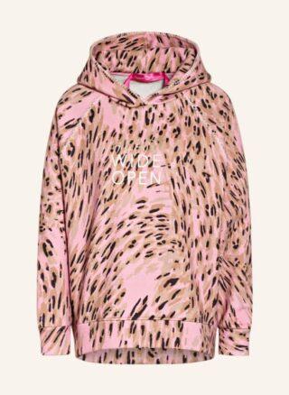 yippie hippie Hoodie Damen, Pink